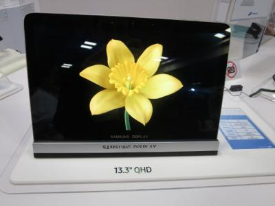 SDC 13.3'' OLED prototype at SID 2016