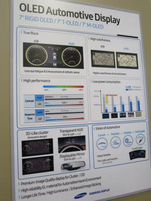 SDC Automotive Poster at SID 2016