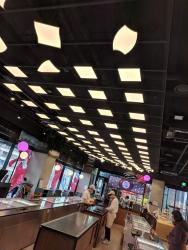 OLED lighting by LG at the Baskin Brown Robbins, Seoul