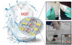 Washable and wearable PSC and OLED device (KAIST)