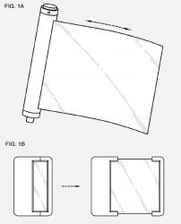 Samsung flexible device patent photo