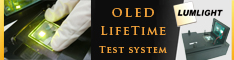 Lumlight - OLED lifetime test systems