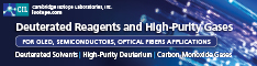 Cambridge Isotope Laboratories - Deutreated Reagents and High-Purity Gases for OLEDs