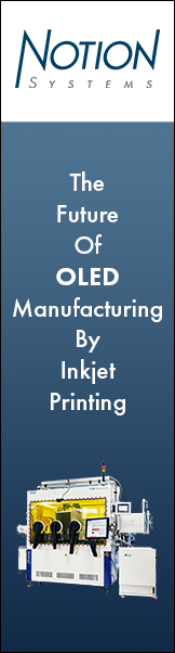 Notion Systems - the future of OLED manufacturing by inkjet printing