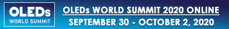 OLEDs World Summit 2020 - Online