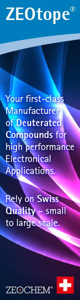 Zeotope - deuterated compounds for high performance applications