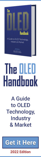 The OLED Handbook ad