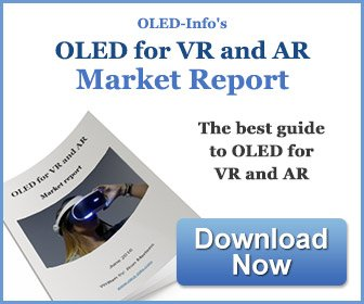 OLED for VR and AR Market Report