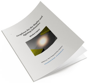 graphene for lighting and displays - report cover