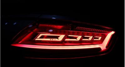 Audi TT RS 2016 OLED taillights photos