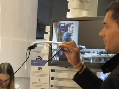 Epson Moverio BT-300 at MWC 2016