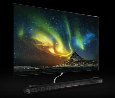 LG OLEDW7 Wallpaper OLED TV photo