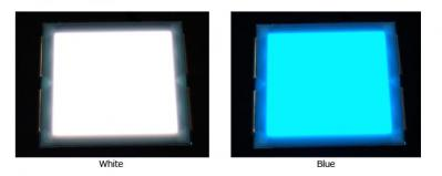 MCPionner color-tunable wet-coated OLED prototype photo