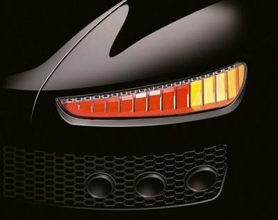 Magneti Marelli OLED rearlight prototype photo