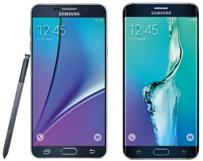 Samsung Note 5 and S6 Edge Plus leaked photo