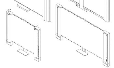 Samsung horizontal-rollable OLED TV patent image