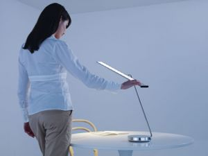 Philips OLED table lamp concept