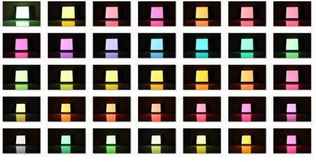 Velve OLED lighting colors