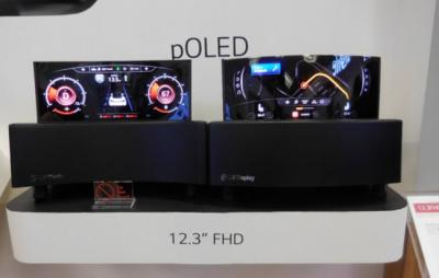 LG 12.3'' automotive P-OLED demo (CES 2016)