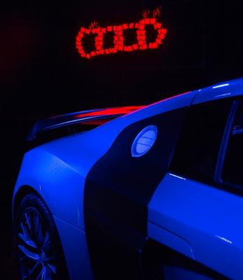 Audi's OLEDs at CES 2015 photo