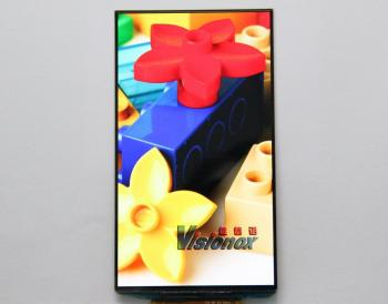 Visionox 5.5'' AMOLED prototype photo